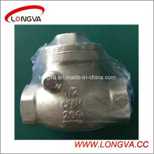 Stainless Steel Spring Type CF8m Female Check Valve