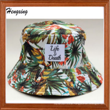 New Fashion Custom Digital Printed Pattern Bucket Hat