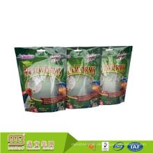 Oem Custom Printed Kunststoff wiederverschließbare Zip Top Essen Standbeutel Nigeria