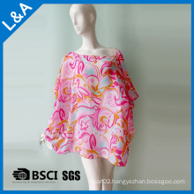 Beach Dress for The Girl Polyster Chiffon 75D