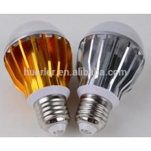 Shenzhen ampoules led en aluminium e26 / e27 / b22 5leds 5w e27 ampoule d'éclairage led