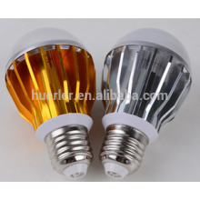 shenzhen led bulbs aluminum e26/e27/b22 5leds 5w e27 led lighting bulb