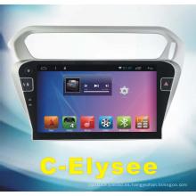 Sistema de Android de coches de DVD para C-Elysee con navegación de coche