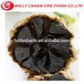 Bocadillo saludable pelado ajo negro orgánico