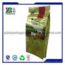 Plastic Side Gusset Bag for Pet Food