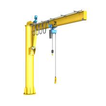 4t column mounted free 360 degree swivel jib crane