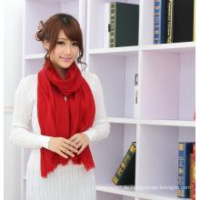100% wasserlösliche Wolle Mode Schal klassische Farbe