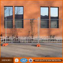 Einfache Montage Rostschutz verzinktem Stahl temporäre Zaun zum Verkauf