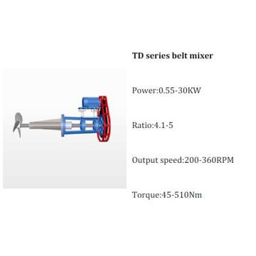 Td Series Belt Gear Mixer