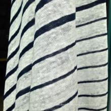 Jersey de punto de lino para la camiseta o la camisa de polo (QF14-1545-BS)