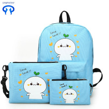 Korean version of leisure travel backpack cartoon