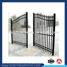 Vente chaude personnalisée Porte principale en aluminium