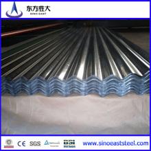 ¡Gran venta! ! ! 0.27mm Galvalumed Aluzinc chapa corrugada Hoja-Hecho en Tianjin Fabricante
