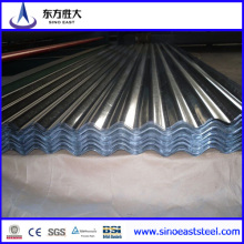Hot Sale! ! ! 0.27mm Galvalumed Aluzinc Corrugated Roofing Sheet-Made in Tianjin Manufacturer