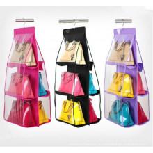 Высокое качество ПВХ и не-сплетенные складной висит сумки Организатор