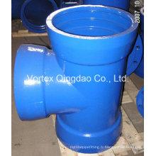 Tissu à douille en fonte ductile