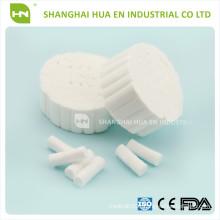 Rouleau de coton absorbant pour rouleau dentaire / coton pour dentaire