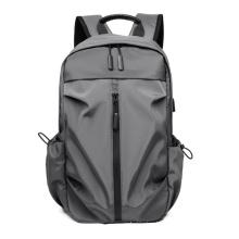Business Nylon USB Charging  Backpack Students Bag Laptop Travel Backpack College School Computer Bag For Men