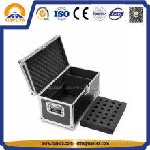 Microfone de alumínio resistente preto carregando caso Hf-5100