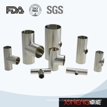 Stainless Steel Hygienic Mirror Polished Tee Pipe Fitting (JN-FT1008)