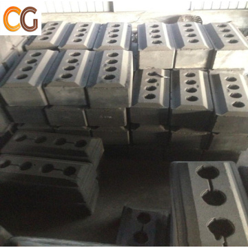 Pre-baked carbon anode graphite carbon anode block