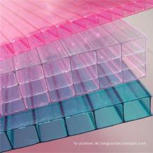 Skylight Polycarbonat-Platten 10 Jahre Garantie verschiedene Farben