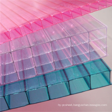 Skylight Polycarbonate Sheets 10 Years Warranty Different Colors