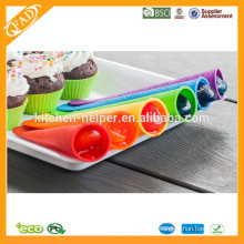 BPA Free Popsicle Molds Оптовая продажа / Силиконовый набор Popsicle Mold / Силиконовый набор для пищевой промышленности Popsicle Mold