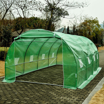 Mini túneles de Polytunnel Walk-In Invernadero