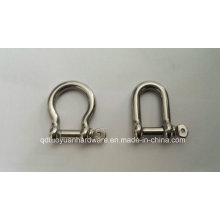 European Type Large Bow Stainless Steel Marine Shackle