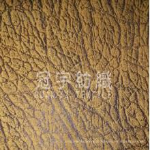 Home Textil Leder Sofa Stoff mit gebürsteter Rückseite