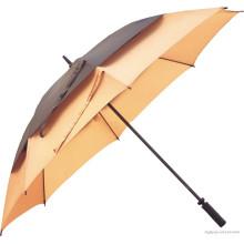 Manuelle offene doppelte Ebenen Straight Umbrella (BD-18)