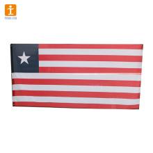 Banderas nacionales de diferentes países que imprimen