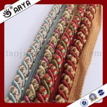 2016 diseño simple hermosa cuerda decorativa para el sofá y textiles para el hogar decorativos