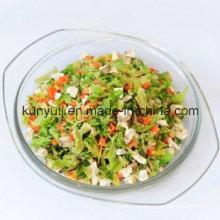 Vegetales secos para fideos instantáneos con alta calidad