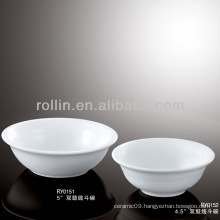 best-selling double line ceramic bowl wholesale, porcelain bowl for hotel&restaurant