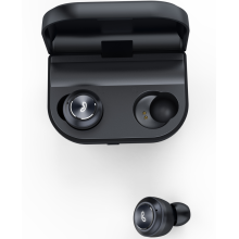 Bluetooth 5.0 Wireless Earbuds with Wireless Charging Case