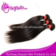 Chinese maunfacturer brazilian straight hair weave bundles 100 virgin remy human hair