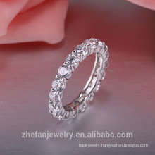 colorful stone 18K plating diamond sterling silver rings High Quality african wedding jewelry price in pakistan