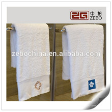 Hot Sale Embroidery Logo Face Towel 100% Cotton Face Towel For Star Hotel Towel Sets