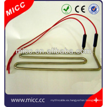 Calentador tubular flexible