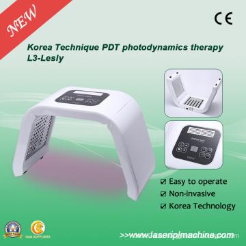 Красный фиолетовый зеленый желтый 4-цветный светодиодный фонарь PDT для терапии кожи L3