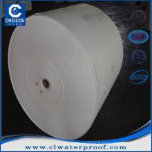 Feutre en polyester pour membrane SBS / APP
