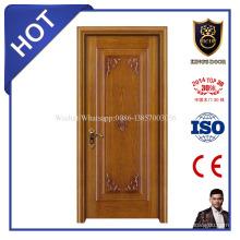 la última puerta de interior de diseño sólido de diseño de madera