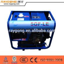 Generador diesel 3KW 6HP, mini generador diesel refrigerado por aire competitivo solo 3kw del cilindro
