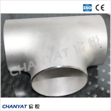 En/DIN Pipe Fitting Stainless Steel Tee 1.4550, X6crninb1810