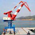 Fix base dry river port portal jib crane