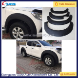 Fit 2015 NP300 Navara Arch Wheel Modified Fender Flares For Pickup 4 Doors Black Accessories Off Road Big Fender