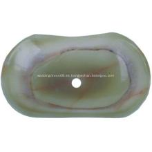 Tapas de fregadero de piedra de baño de recipiente de zafiro