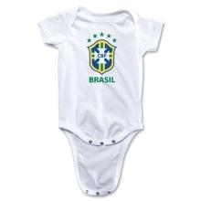 2014 Kid Soccer tragen Brasilien Strampler